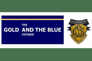 The Gold Blue Coterie Logo
