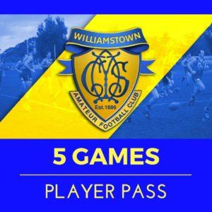 5 Games Player Pass